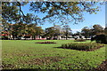 NX1897 : Autumn at Victory Park Garden, Girvan by Billy McCrorie