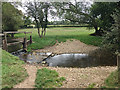 SP1766 : Tapster Brook in Preston Fields, below North Rookery Farm by Robin Stott