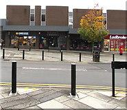 SS9079 : Greggs, Brackla Street, Bridgend town centre by Jaggery