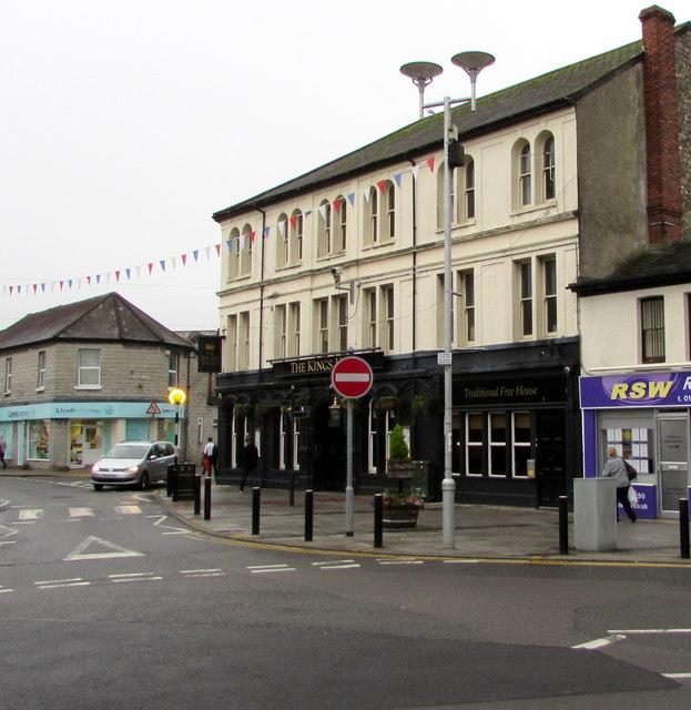 King's Head pub, Nolton Street, Bridgend