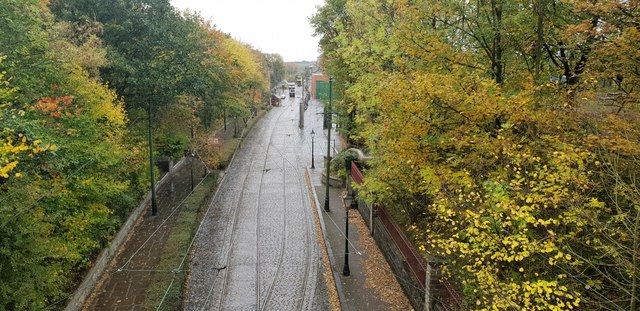 View from Bowes Lyon Bridge