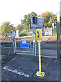 TQ1733 : Crossing at Warnham station by Hugh Craddock