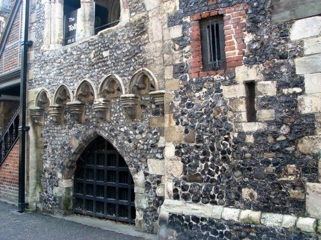 Tolhouse Street - The Tolhouse (detail)