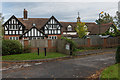 TQ3355 : 100 Harestone Lane and 1 High View by Ian Capper