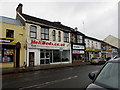 SS6697 : Former Helibeds shop in Morriston, Swansea  by Jaggery