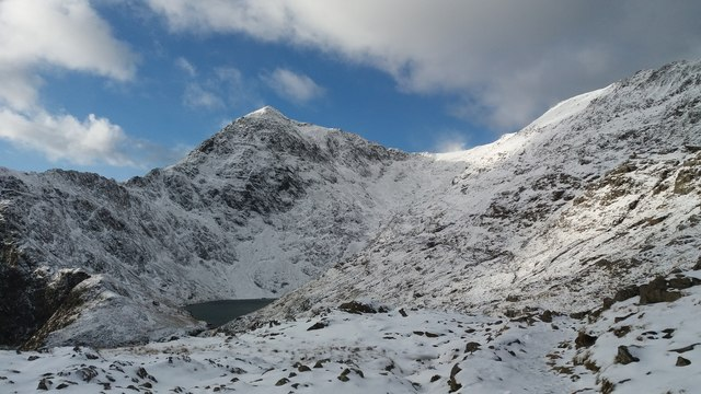 Yr Wyddfa - Snowdon with its winter coat!