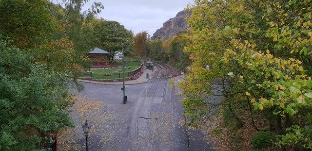 View from Bowes-Lyon bridge