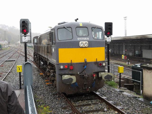 IE 071 class locomotive at Cork