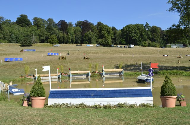 Water jumps at Gatcombe