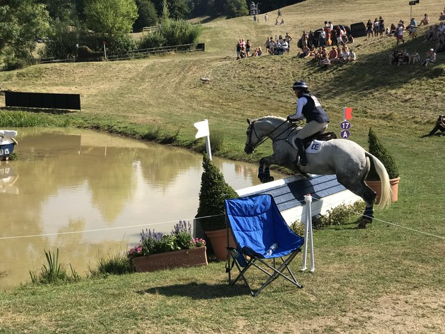 Water jump at Gatcombe