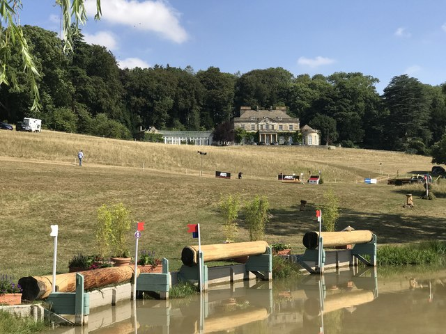 Gatcombe House from the park