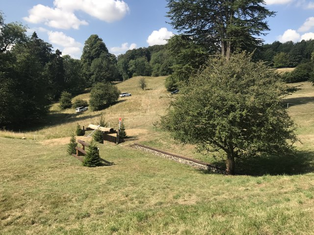 Cross-country course in Gatcombe Park