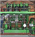 SN2949 : Internal Fire Museum of Power - triple expansion steam engine by Chris Allen