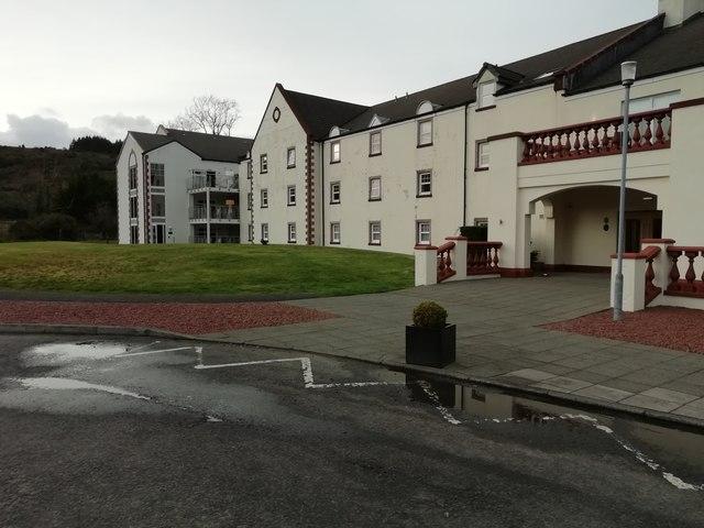 Auchrannie Resort Spa building