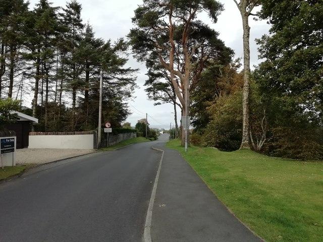 Glencloy Road, Brodick