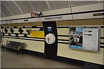 TQ2982 : Warren Street Underground Station by N Chadwick