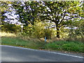 TL9227 : Footpath to Ponders Road by Adrian Cable