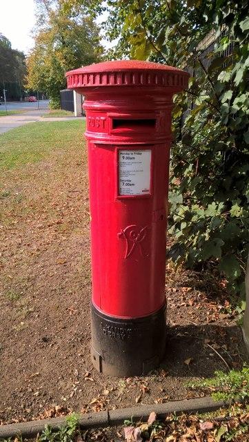 VR postbox on Thorpe Road, Peterborough