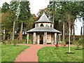 NS5320 : Woodland Shelter, Dumfries House by G Laird