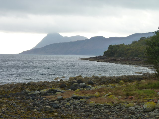 Coastline south of Corrie