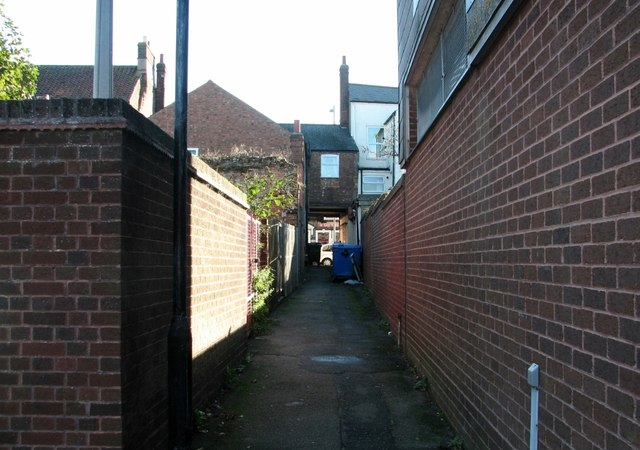 Great Yarmouth's Rows - Row 3 (Boulter the Baker's Row)