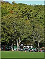 SK3285 : Endcliffe Park Cafe in mid-October 2018 by Neil Theasby