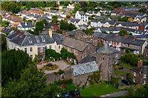 SS9512 : Tiverton : Tiverton Castle by Lewis Clarke