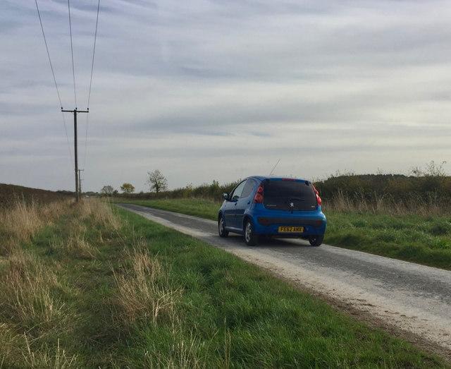 Whins Lane, near Long Riston