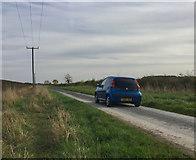 TA1343 : Whins Lane, near Long Riston by Paul Harrop