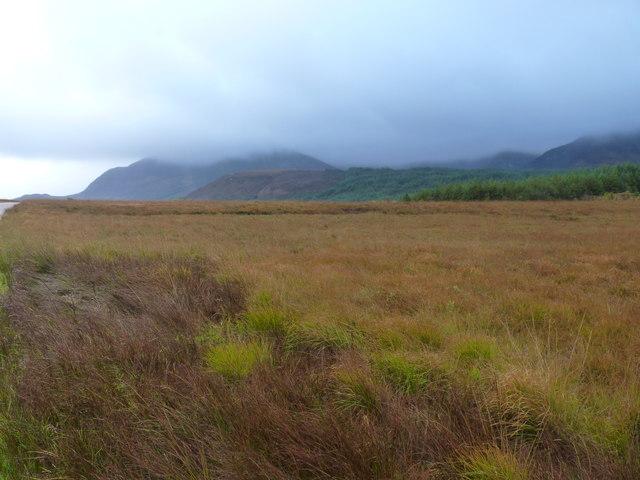Cloud-shrouded Fionn Bhealach