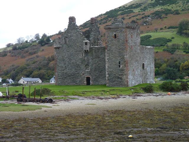 Ruins of Lochranza Castle