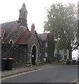 ST3490 : Catholic church, High Street, Caerleon by Jaggery