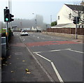 ST3490 : Pelican crossing, High Street, Caerleon by Jaggery