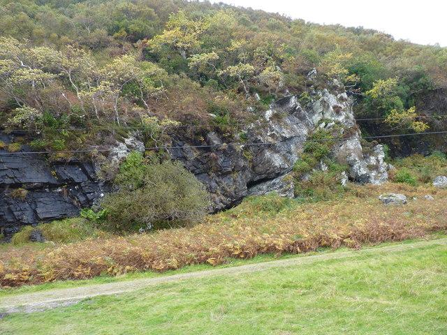 Cave-rich cliffs