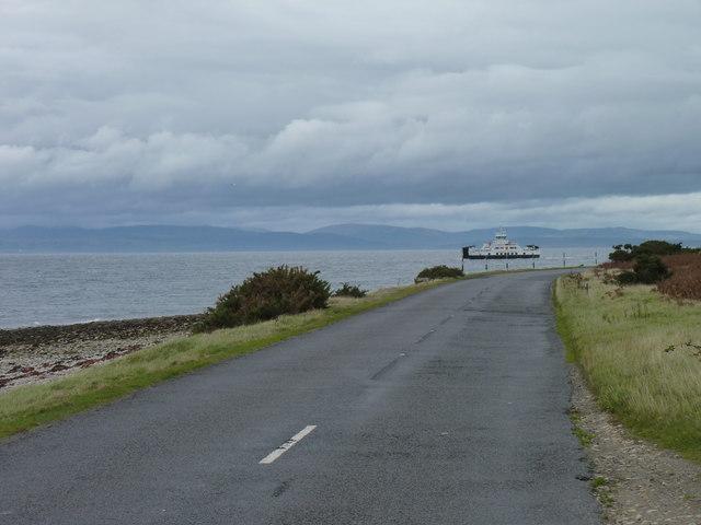 Road to Lochranza
