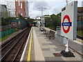 TQ2189 : Colindale Underground station, Greater London by Nigel Thompson