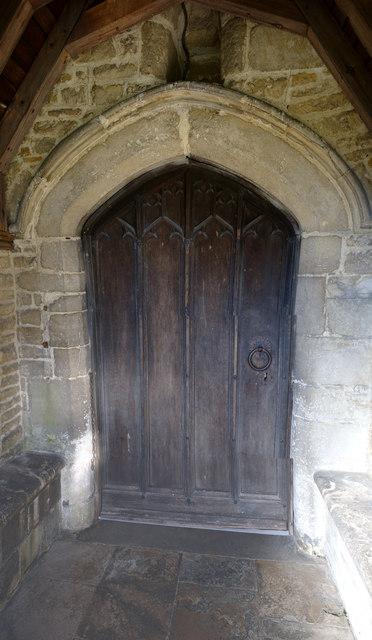 The Church of John the Baptist: Main Entrance