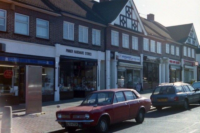 Shops in Cannon Lane, Pinner