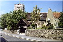 TQ1289 : Pinner Church by Carl Grove