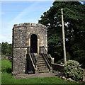 SD6178 : Gazebo, St Mary's churchyard, Kirkby Lonsdale by Bill Harrison