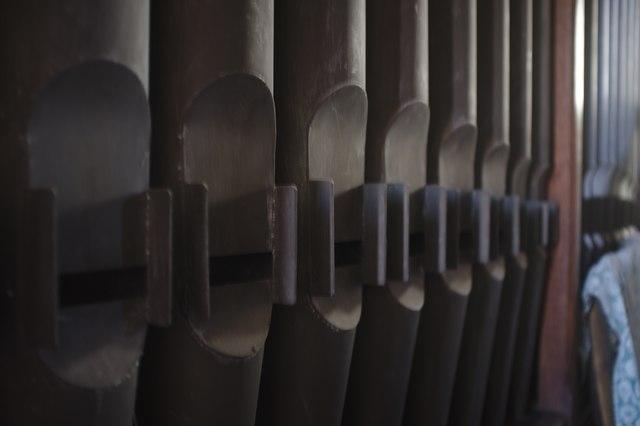 The Church of John the Baptist: Organ pipes