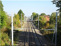 ST8081 : Badminton railway station (site), Gloucestershire by Nigel Thompson
