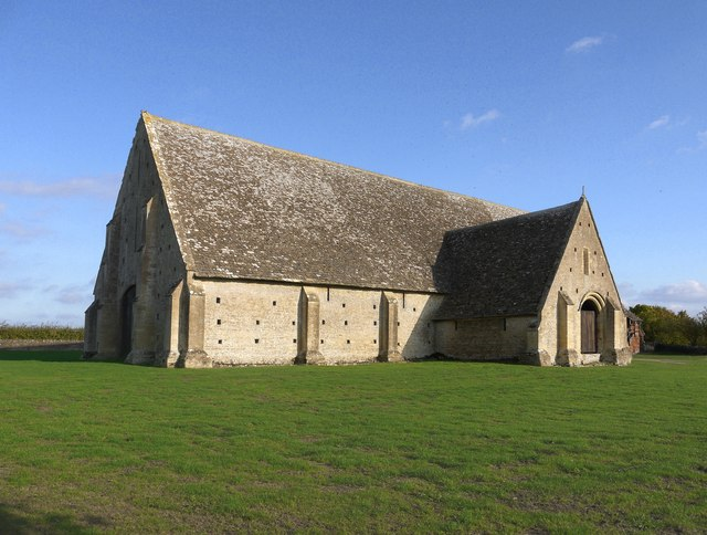 Great Coxwell: the Tithe Barn