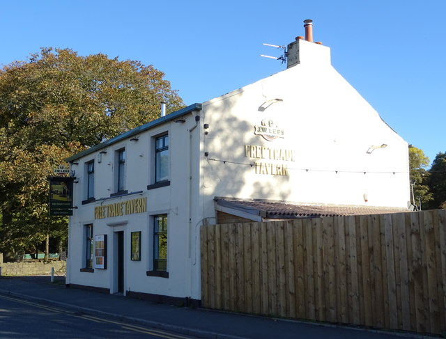 The Free Trade Tavern, Milnrow