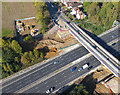 SU3716 : Old Romsey Road bridge replacement works by Peter Facey