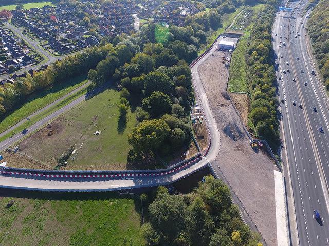 Old Romsey Road bridge replacement works