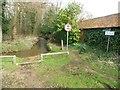 SU9661 : Chobham: Watery Lane by Nigel Cox