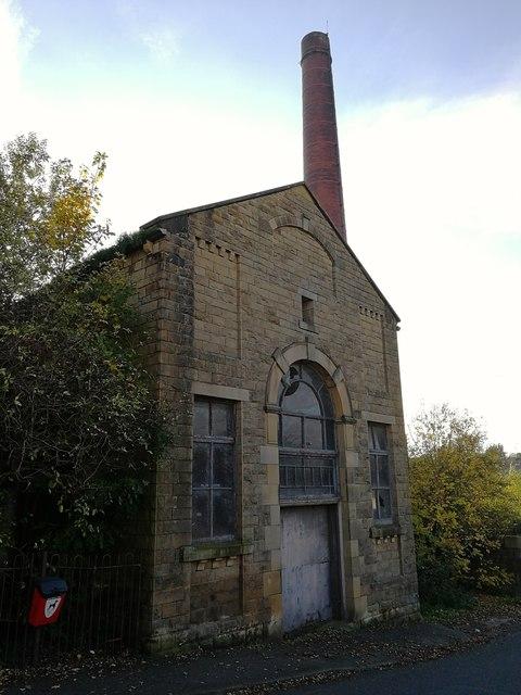 Brook Mills Engine House & Chimney