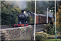 SD8022 : East Lancashire Railway at New Hall Hey by Chris Allen
