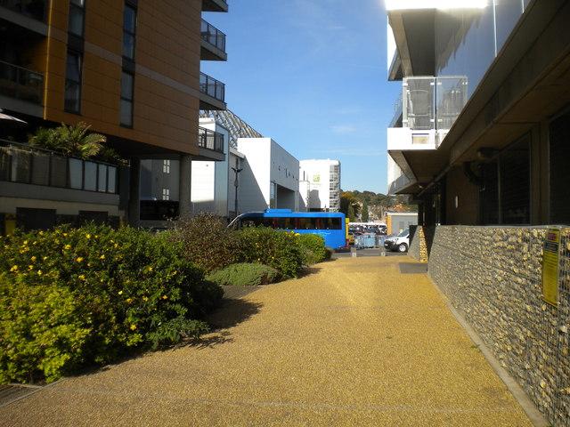 Footpath to Geoffrey Watling Way, Norwich